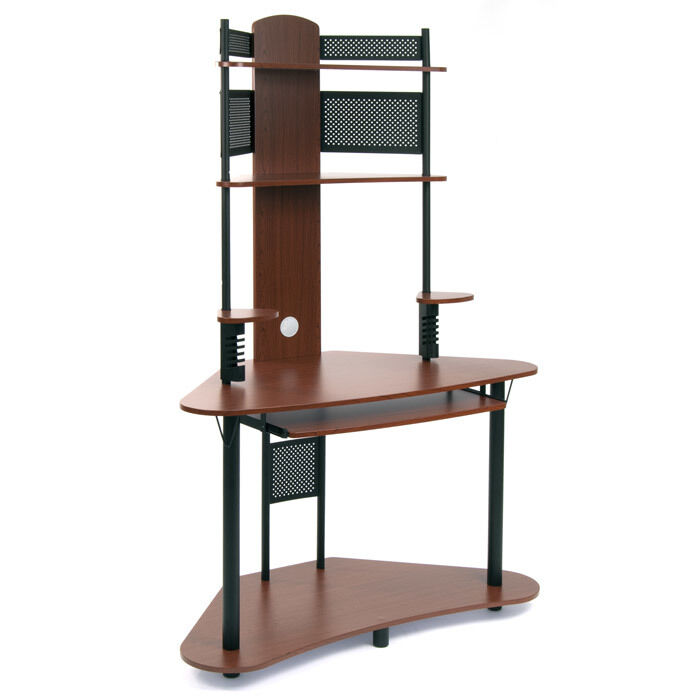 Arch Tower Corner Computer Desk by Studio Design Cherry | eBay
