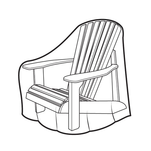 Weather Wrap® Adirondack Chair Cover