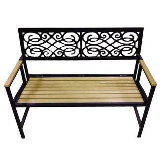 Folding Outdoor Park Bench