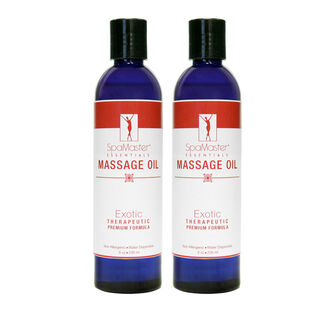 SpaMaster Exotic Massage Oil - 2 Pack