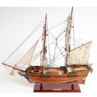 "Lady Washington Merchant ""Sloop"" Wooden Sailing Ship Model"