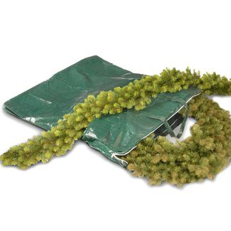 Heavy-Duty Christmas Wreath and Garland Storage Bag