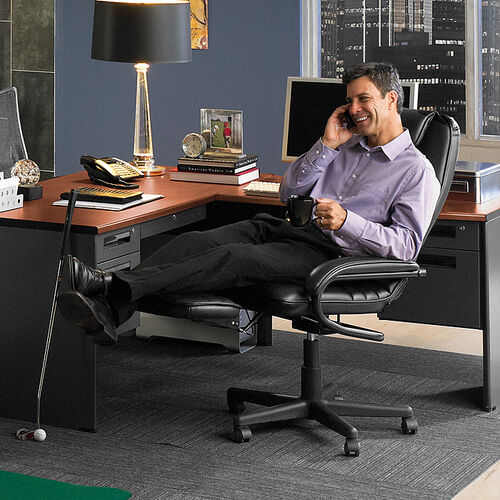 Reclining Executive Desk Chair