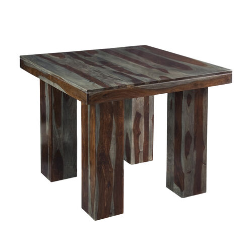 2 Tone Rustic Solid Wood Counter Height Dining Table by  : 977347p from www.brookstone.com size 500 x 500 jpeg 24kB