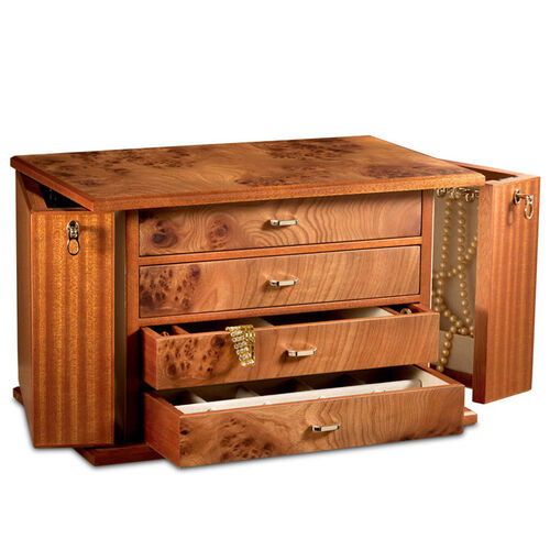 Agresti Four Drawer Jewelry Box