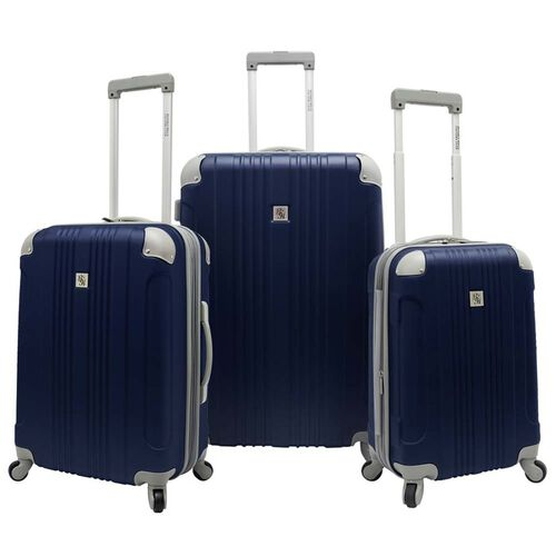Beverly Hills Country Club Malibu 3-Piece Hardside Spinner Luggage Set