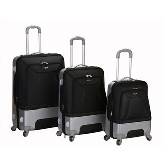 Rome 3 Piece Hybrid Luggage Set by Fox Luggage