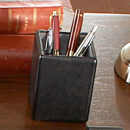 Royce Leather Pen and Pencil Holder