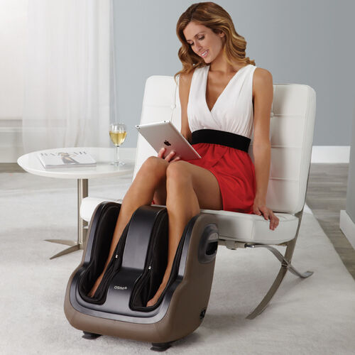 OSIM® uSqueez® App-Controlled Foot & Calf Massager