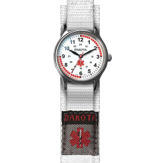 Ladies Nylon Nurse Wrist Watch