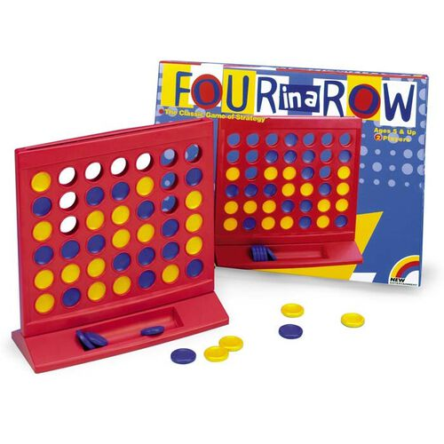 Four in a Row Board Game