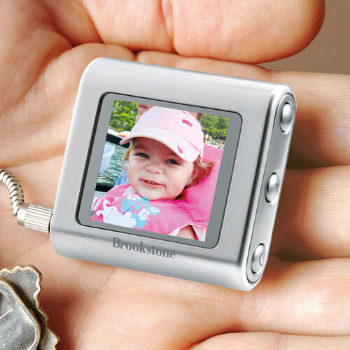 My Life Digital Photo Keychain