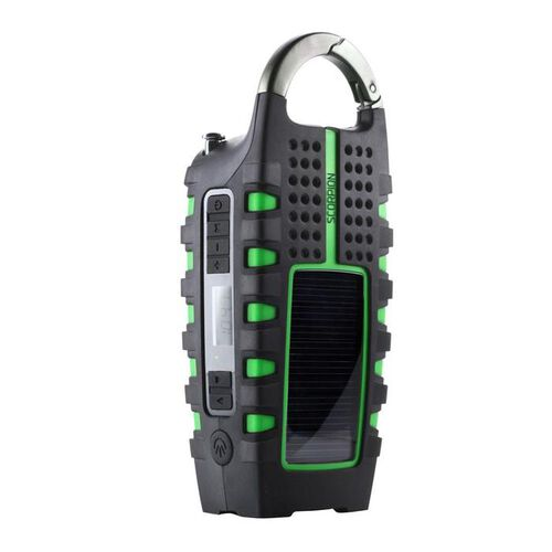 Eton Scorpion Hand Crank Flashlight Weather Radio