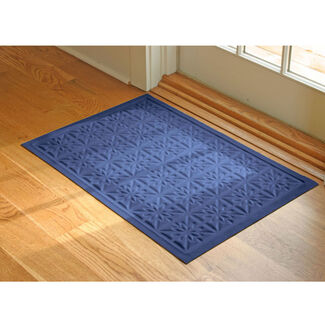 Waterhog Star Quilt Low-Profile Microfiber Floor Mat