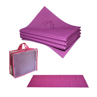 Khataland YoFoMat Folding ECO Yoga Mat, Extra Long