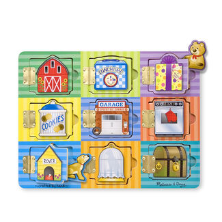 Melissa and Doug Toys: Magnetic Hide and Seek Board