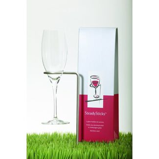 SteadySticks Wine Glass Holders by SteadySticks - Set of 4