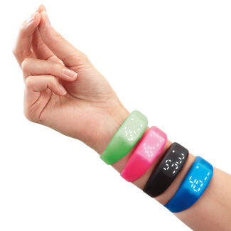Snap Bands™ Motion-Sensing, Light-Up Watch