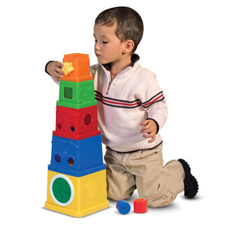 Melissa & Doug K's Kids Stacking Blocks