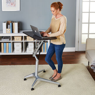 Workpad Height-Adjustable Laptop Table