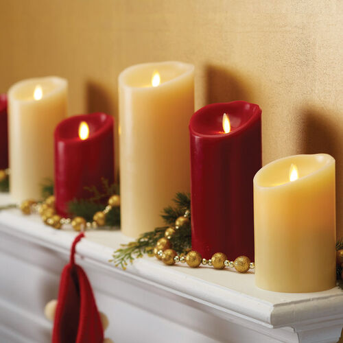 Christmas Window Candles Timer