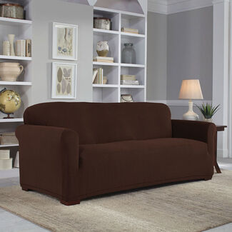 Serta Stretch Grid 1-Piece Slipcover for Sofa