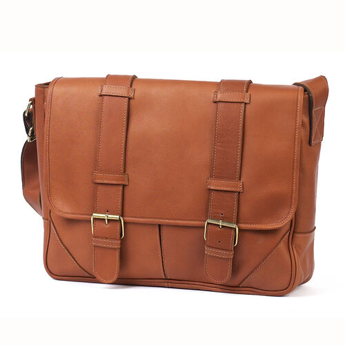 Cowhide Leather Sorrento Computer Messenger Bag