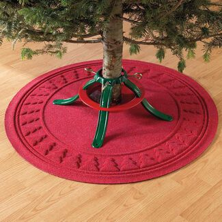 Ultra-Absorbent Waterhog Christmas Tree Mat
