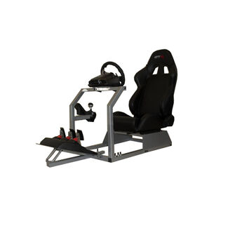 GTR Racing Simulator GTA Model Gaming Stand w/ Adjustable Racing Seat