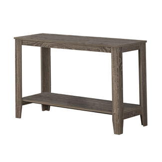 Monarch Specialties Reclaimed-Look Sofa Console Table