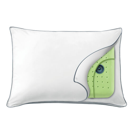 Soft sound speaker pillow at brookstone buy now for Music speaker pillow