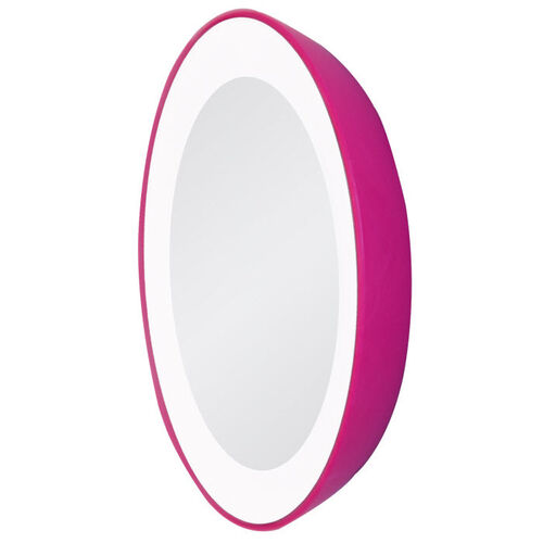 Zadro LED Single Lighted Next-Generation Magnification Spot Travel Mirror