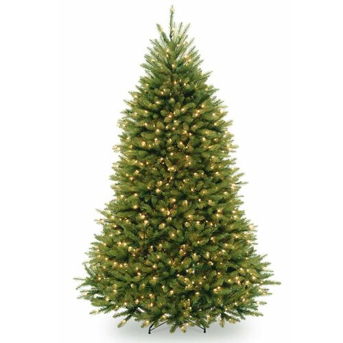 Pre-Lit Artificial Christmas Tree with 700 Low Voltage LED Lights