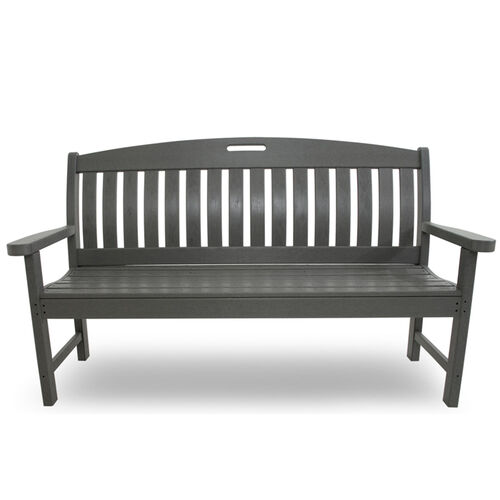 "Nautical 60"" Outdoor POLYWOOD Bench"
