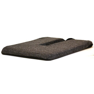 Sacro Ease Cutout Seat Cushion with Poly Foam
