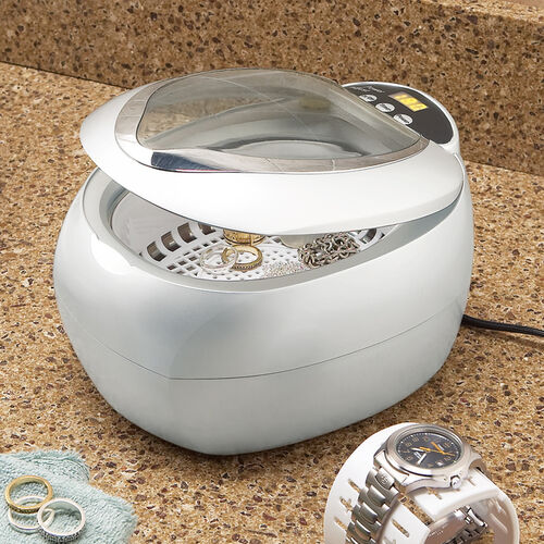 Ultrasonic Jewelry Cleaner and DVD Cleaner