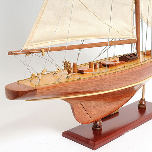 Enterprise Yacht Wooden Boat Model
