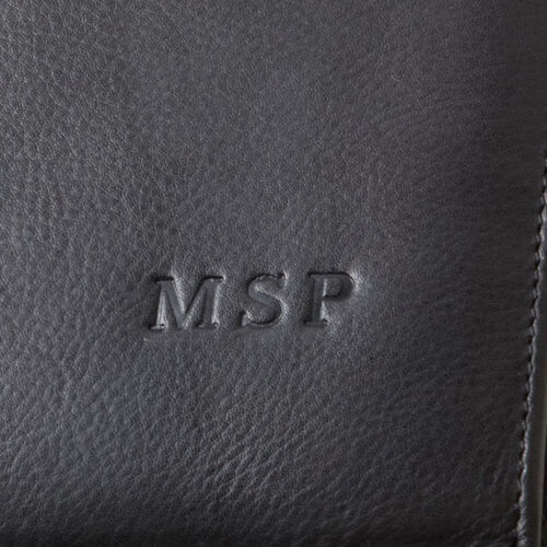 Clava Personalized Leather Passport Cover