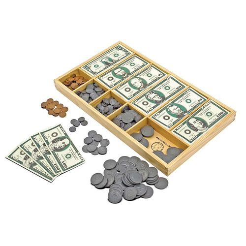 Melissa & Doug Toys - Play Money Set