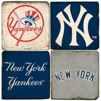 New York Yankees Logo Drink Coasters
