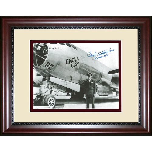 Enola Gay Pilot General Paul Tibbets Signed Photograph of the Bomber