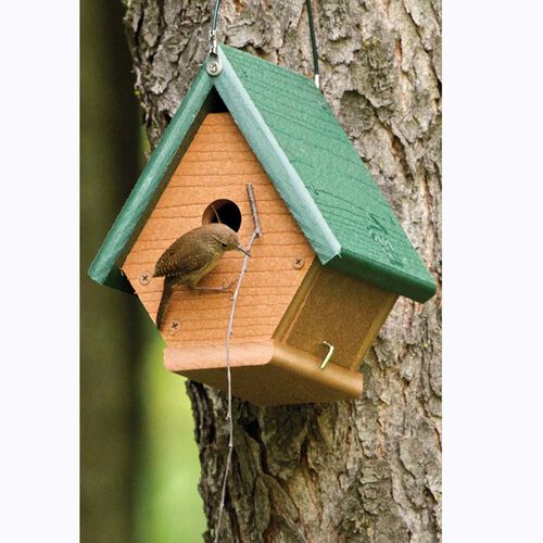 Going Green Wren Bird House