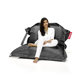 Buggle-Up Indoor and Outdoor Waterproof Bean Bag Chair with Stain and UV-Resistant Polyester Fabric by Fatboy