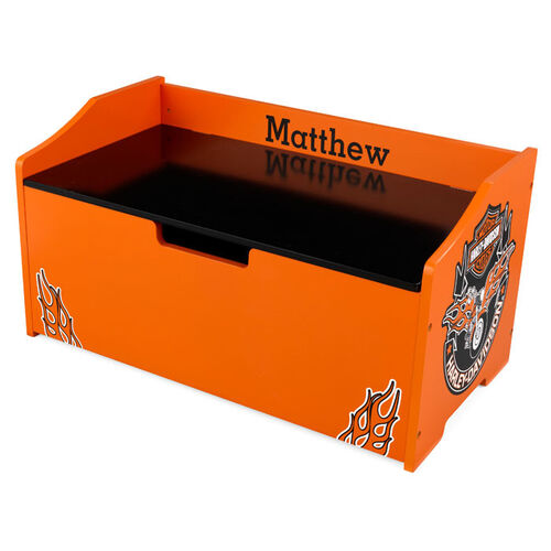 KidKraft Personalized Harley-Davidson Toy Box