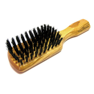"Military 7"" Brush with Handle and 8 Rows of Boar Bristle"