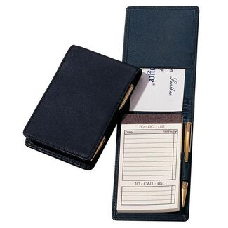 Personalized Royce Leather Deluxe Flip Style Notepad