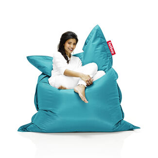 Stain and Water-Resistant Nylon Fabric Lounge Bean Bag Chair by Fatboy