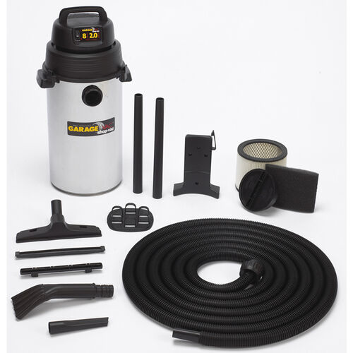 8 Gallon Wall Mount Garage Vac