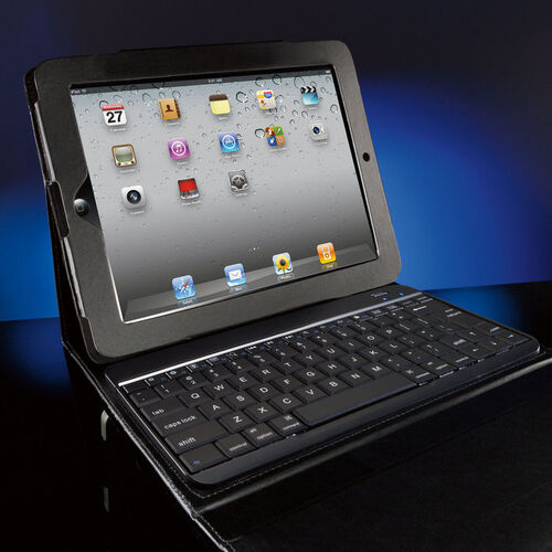 Bluetooth® Keyboard with Portfolio Case for iPad® Tablets