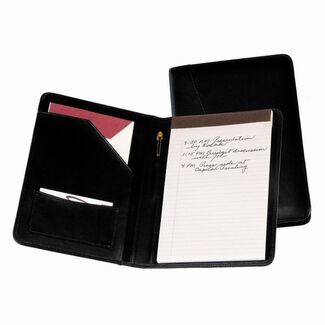 Personalized Royce Bonded Leather Jr. Writing Padfolio